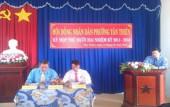 Hội đồng nhân dân phường Tân Thiện, thị xã Đồng Xoài  tổ chức kỳ họp thứ mười hai, khóa II, nhiệm kỳ 2011-2016.