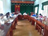 Hội đồng chính sách xã Tân Thành họp xét duyệt hồ sơ chính sách  theo Quyết định 49/2015/QĐ-TTg và Quyết định 62/2011/QĐ-TTg  của Thủ tướng Chính phủ.